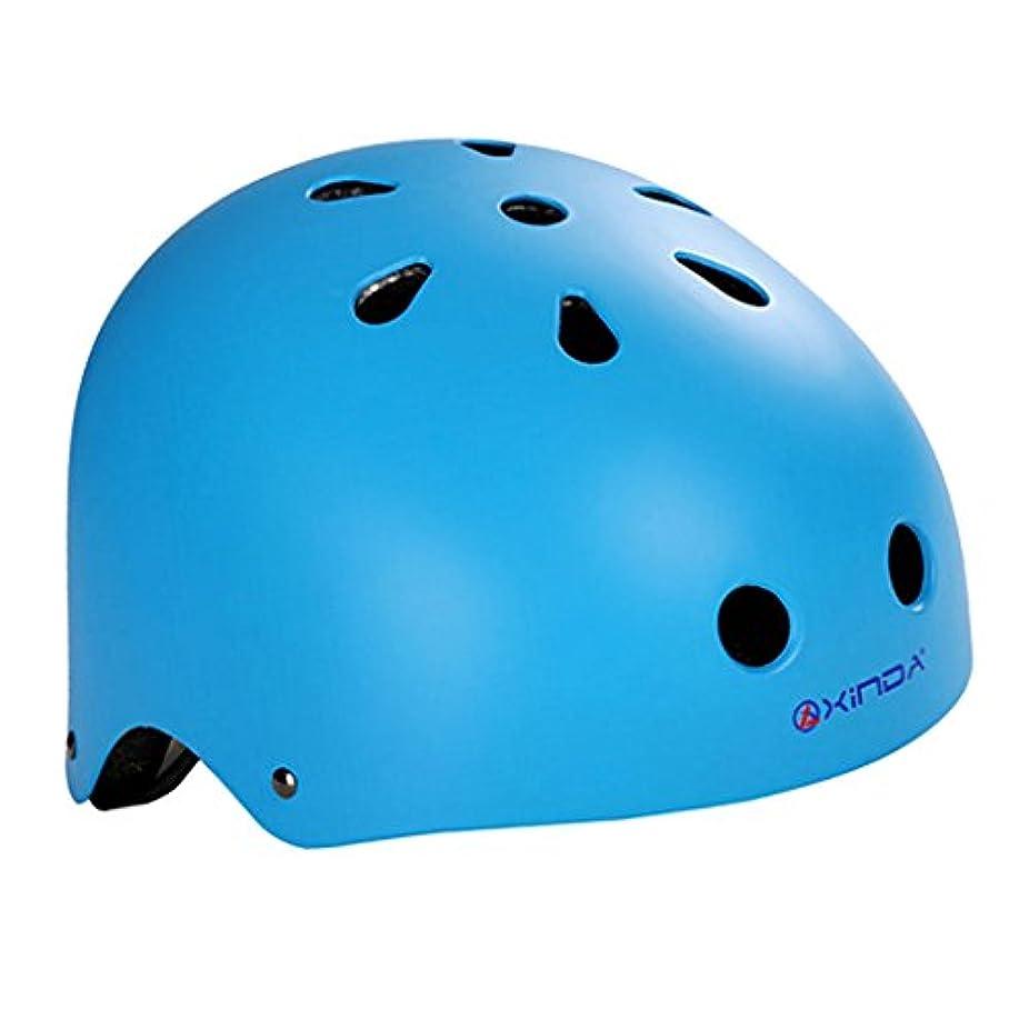 水を飲む真実忠実にBaoblaze 安全ヘルメット アウトドア スポーツ 登山 探検 安全作業 レスキュー 多用途  青 M