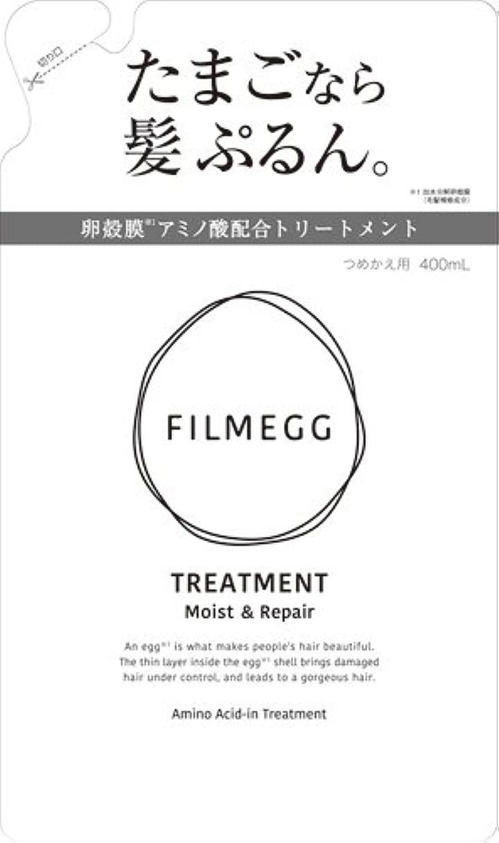 七時半見物人磁器FILMEGG(フィルメッグ) トリートメント 詰替え 400ml