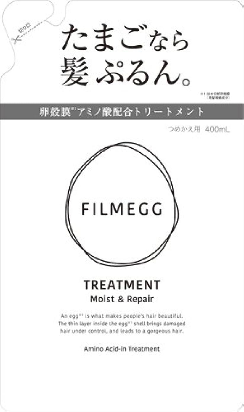 懲戒夢専制FILMEGG(フィルメッグ) トリートメント 詰替え 400ml