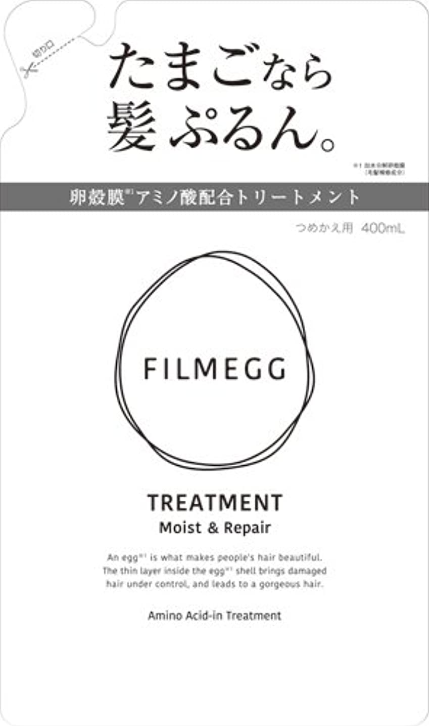人気悩み交流するFILMEGG(フィルメッグ) トリートメント 詰替え 400ml