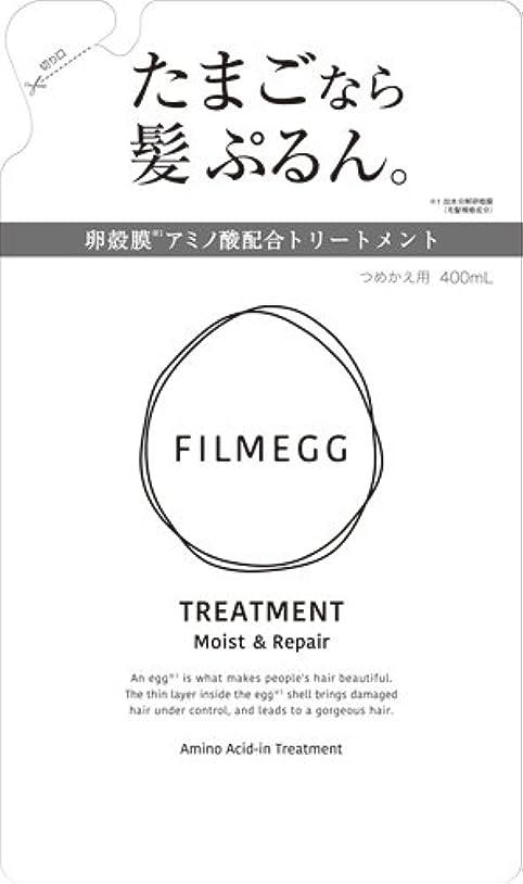 肘適性記念碑FILMEGG(フィルメッグ) トリートメント 詰替え 400ml
