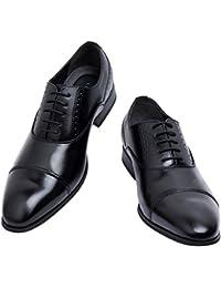 (ライムガーデン) ビジネスシューズ メンズ 紳士靴 ストレートチップ ドレスシューズ 内羽根 軽量 LG201