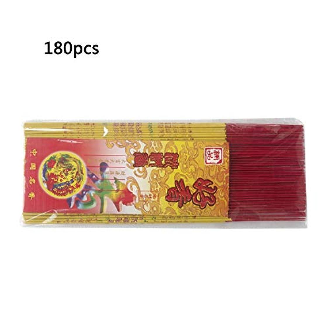 フェンスそう学者Bibipangstore J013チベット香自然な手作りの仏教瞑想癒しの香り香スティックゴールドスタンピング40cm&180スティック