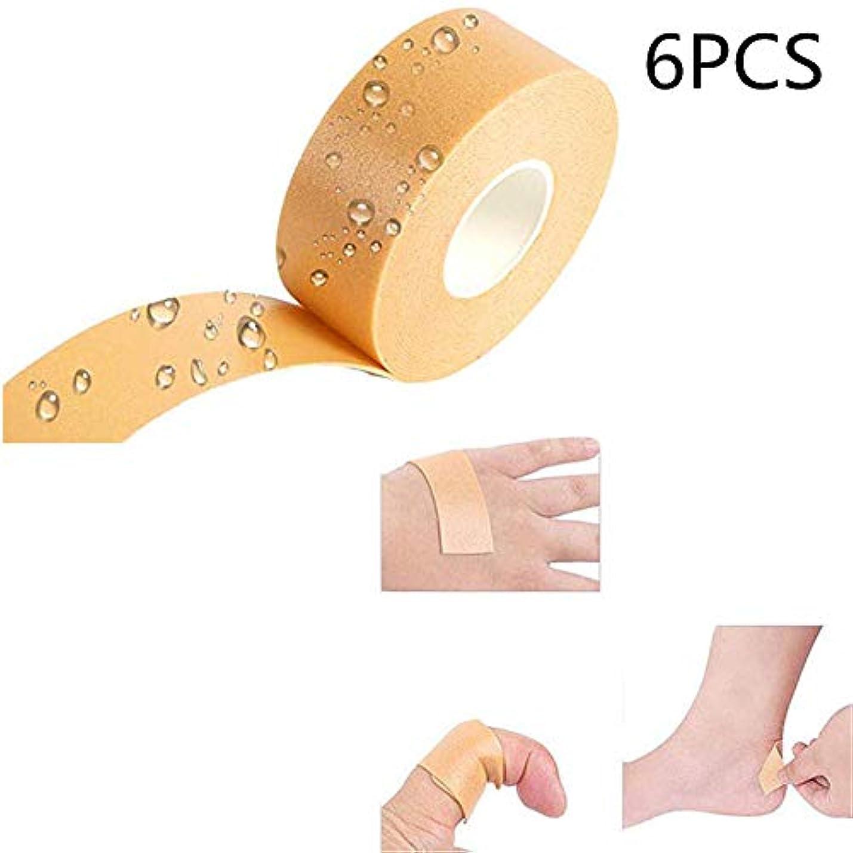 クラックポット代表彼のかかとグリップテープフットケアのステッカー、防止および治療のための伸縮性がある耐久力のあるフィートのかかとのステッカーの泡テープまめのパッド、防止のまめ、摩擦への女性の男性のための包帯。