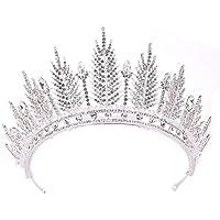 Atmospheric Luxury Crystal Crown Headdress Princess Wedding Wedding Headwear Accessories