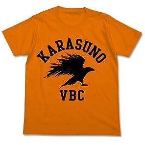 ハイキュー!! 烏野高校排球部Tシャツ オレンジ サイズ:M