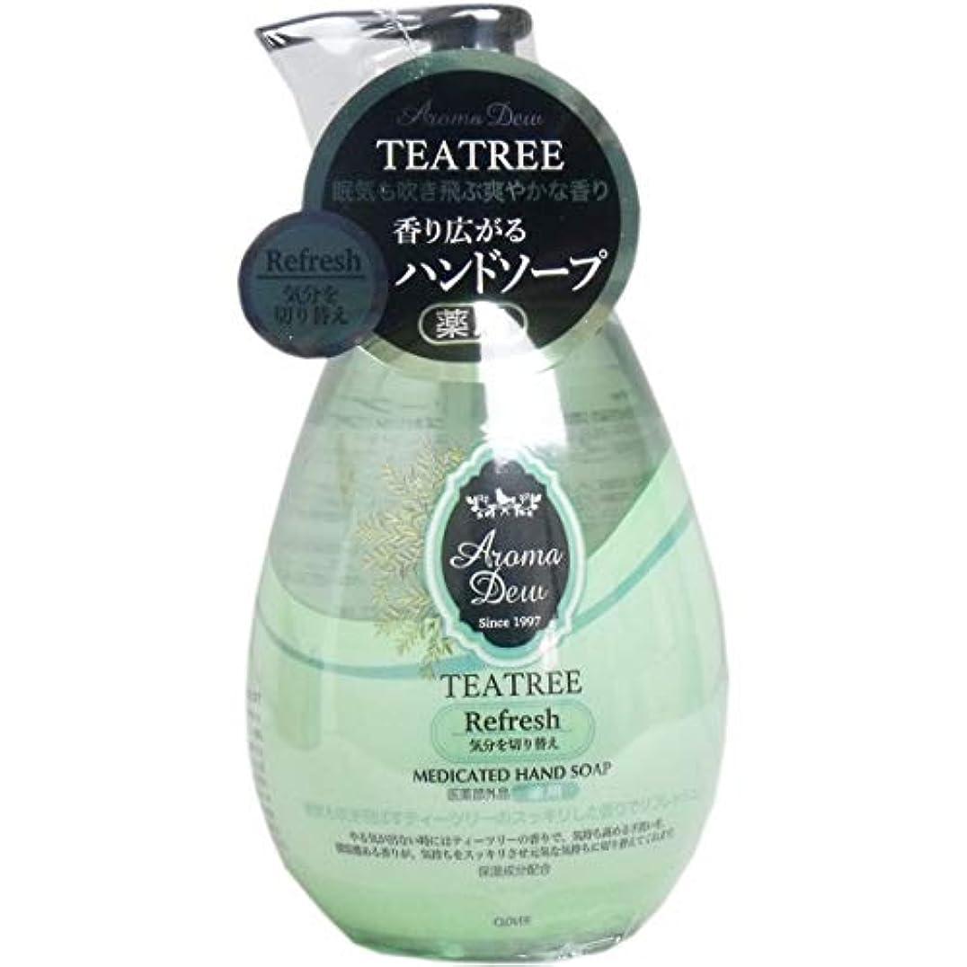 緑ジュニア道路薬用アロマデュウ ハンドソープ ティーツリーの香り 260mL(単品)