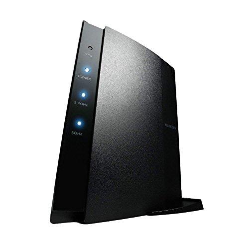 エレコム WiFi ルーター 無線LAN親機 11ac/n/a/g/b 1733+800Mbps Nintendo Switch動作確認済 トレンドマイクロセキュリティ WRC-2533GHBK2TA