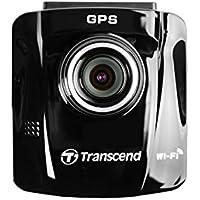 Transcend DrivePro 220 ドライブレコーダー 保証付 内蔵GPS/Wi-Fi/車線維持サポート/接近警報/130度広角