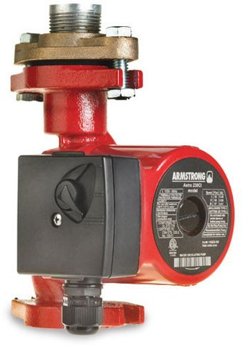 Armstrong 110223-308 1/20 Horsepower Astro 250SS Wet Rotor Circulator, Stainless Steel [並行輸入品]
