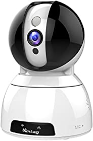 Vimtag Indoor Series FHD Indoor Vimtag CP3 1536P FHD Indoor WiFi AI Security Camera, White (CP3 1536P)