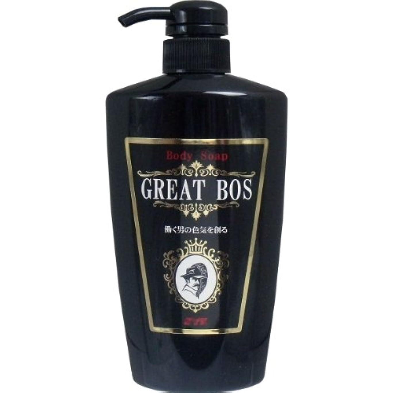 食い違い陰気パスポートSYK ボディソープ GREAT BOS(グレートボス) 480ml