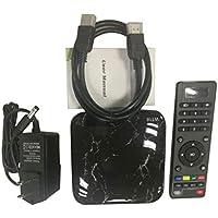 MolySun ネットワーク Amlogic S912オクタコアWiFiのHDメディアプレーヤーセットトップボックスのサポートメモリLPDDR3用のAndroid 7.1テレビセットトップボックスのためにWT18 ブラック