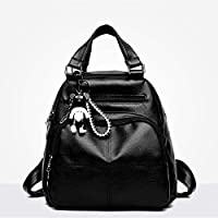 XBLLM Lady Backpack- Mini Shoulders Bag, Multifunction Daypack Satchel Crossbody Bag for Girls Lady (Color : A)