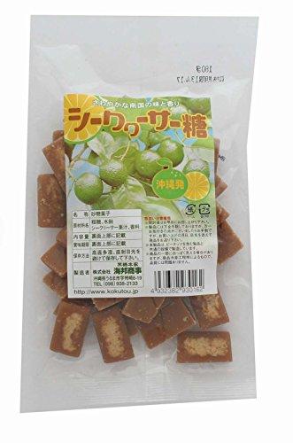 海邦商事 シークヮーサー糖 180g×20袋
