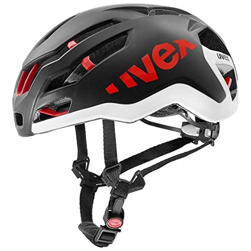 読書しがみつく肺炎ウベックス(uvex) ヘルメット race 9 ドイツ製 JCF公認 ブラックマット 57-60