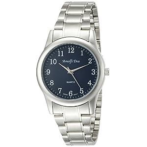 [アリアス]ALIAS 腕時計 アナログ アマルフィ 3気圧防水 ブレスレット ブルー A33M25 メンズ