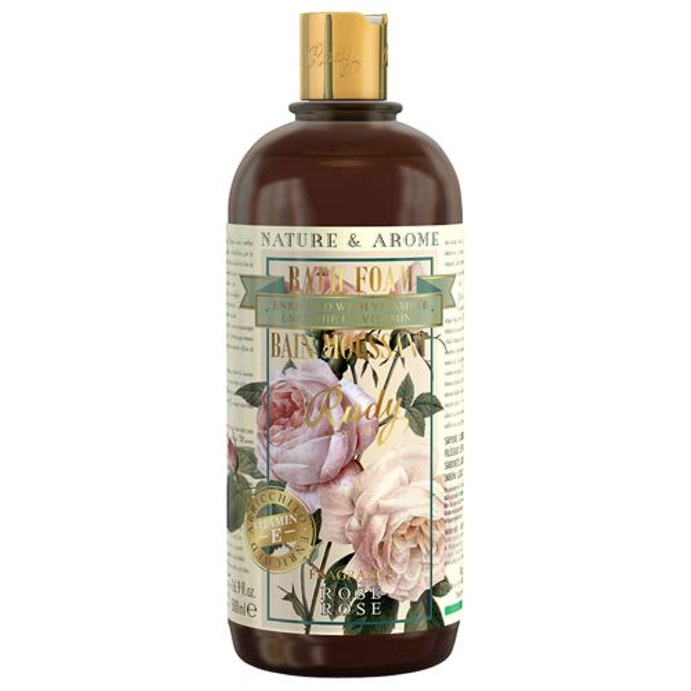 それに応じて花束読むルディ(Rudy) RUDY Nature&Arome Apothecary ネイチャーアロマ アポセカリー Bath & Shower Gel バス&シャワージェル Rose ローズ