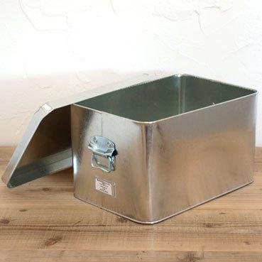 トタン 米びつ15kg ツールボックス 収納ボックス 日本製 松野屋