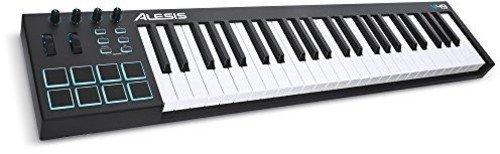 Alesis USB MIDIキーボード 49鍵 8パッド Ableton Live Lite付属 V49