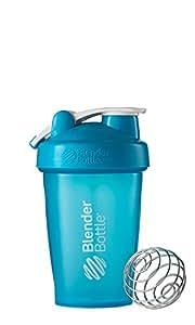 Blender Bottle(ブレンダーボトル) Blender Bottle Classic w/Loop AQUA/AQUA 20オンス(600ml) [並行輸入品]