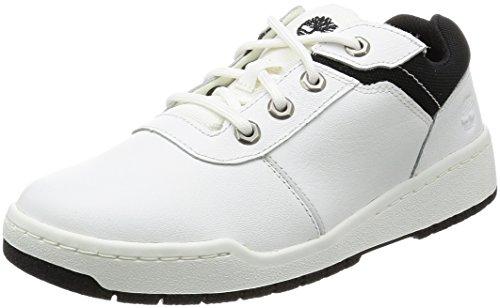 [ティンバーランド] Raystown Fabric And Leather Sneaker Oxford A1BAC ホワイト スムース ウィズ ブラック US 26.5(26.5 cm)