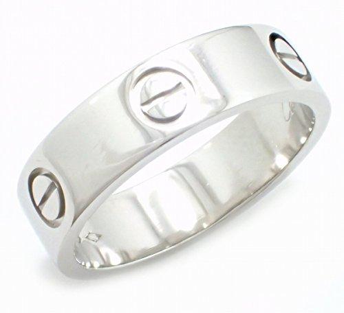 [カルティエ] Cartier ラブリング LOVE Pt950 プラチナ リング 指輪 16号 #56 B4084900 B4084956