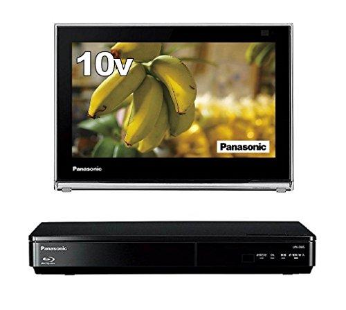 パナソニック 10V型 液晶 テレビ プライベート・ビエラ UN-10D6-K ポータブル 防水タイプ ブルーレイディスクプレイヤー付き ブラック
