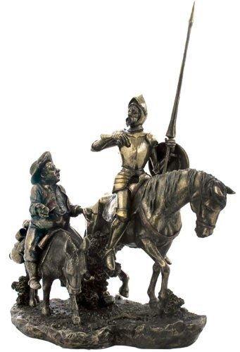 Veronese (ヴェロネーゼ) ドン・キホーテ サンチョ・パンサ 馬 ブロンズ風 フィギュア