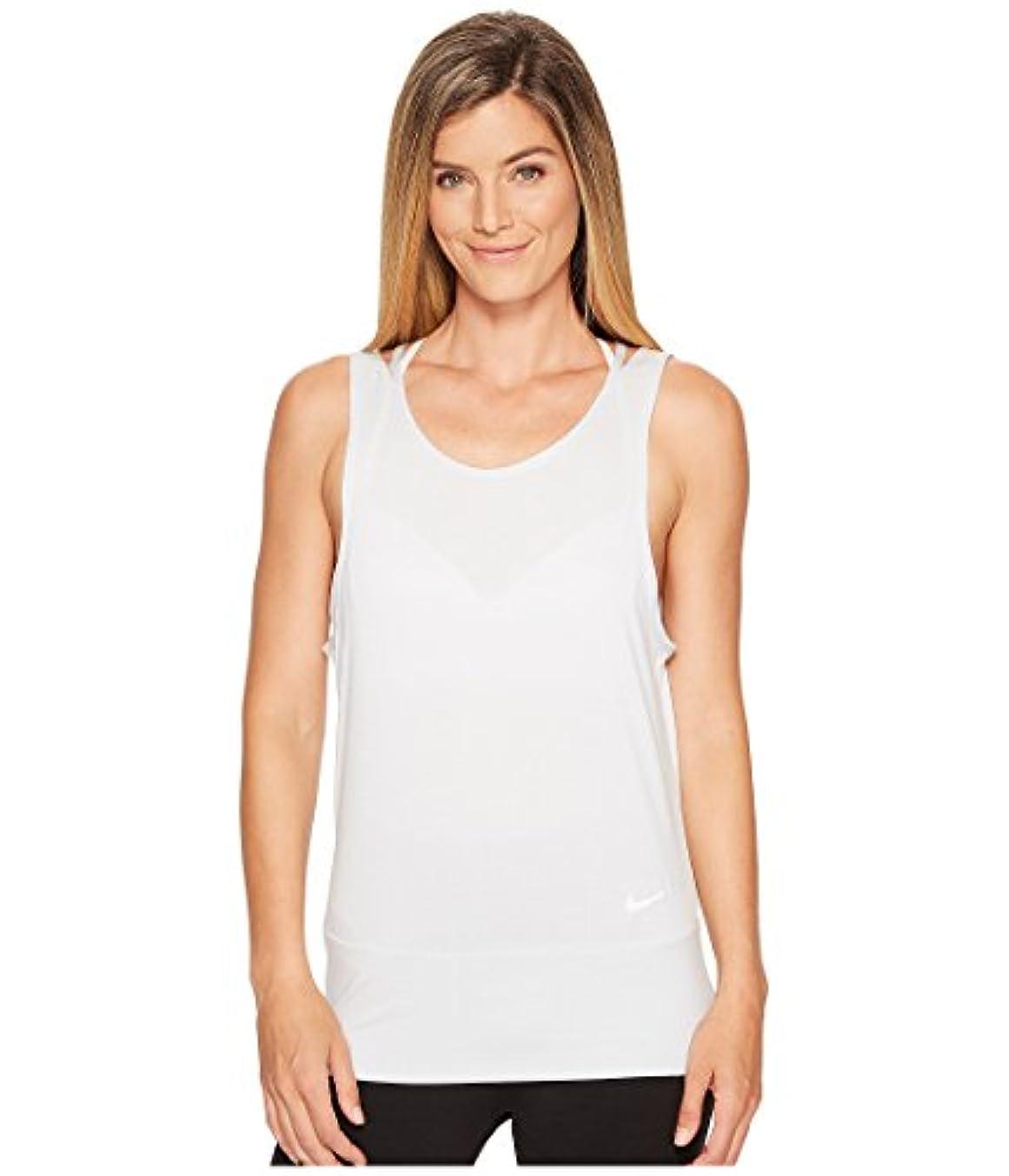 風夢中近々(ナイキ) NIKE レディースタンクトップ?Tシャツ Dry Training Tank Pure Platinum/White/White XS
