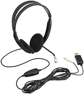 ELECOM PS3 USBヘッドセット オーバーヘッド 両耳 音楽&音声両対応 シルバー HS-GMHP06USV