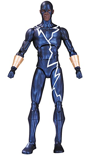 DC アクションフィギュア DCコミックス アイコンズDX スタティック・ショック 6インチ プラスチック製 塗装済みアクションフィギュア