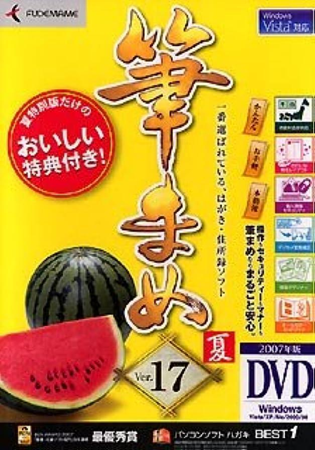 通信網乱闘罪人筆まめ Ver.17 夏特別版 (DVD-ROM版)