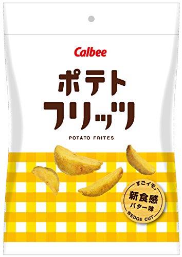 カルビー ポテトフリッツ バター味 50g×12袋