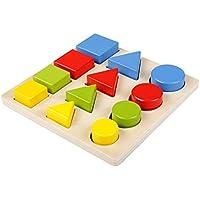 Rabugoo 学習 教育 パズル おもちゃ 木製 マッチング パネル パズル おもちゃ 子供 知能開発 教育 おもちゃ ギフト