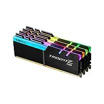 G。Skill TridentZ RGBシリーズ64GB ( 4x 16GB ) 3200MHz DIMM–- f4–3200C15q-64gtzr