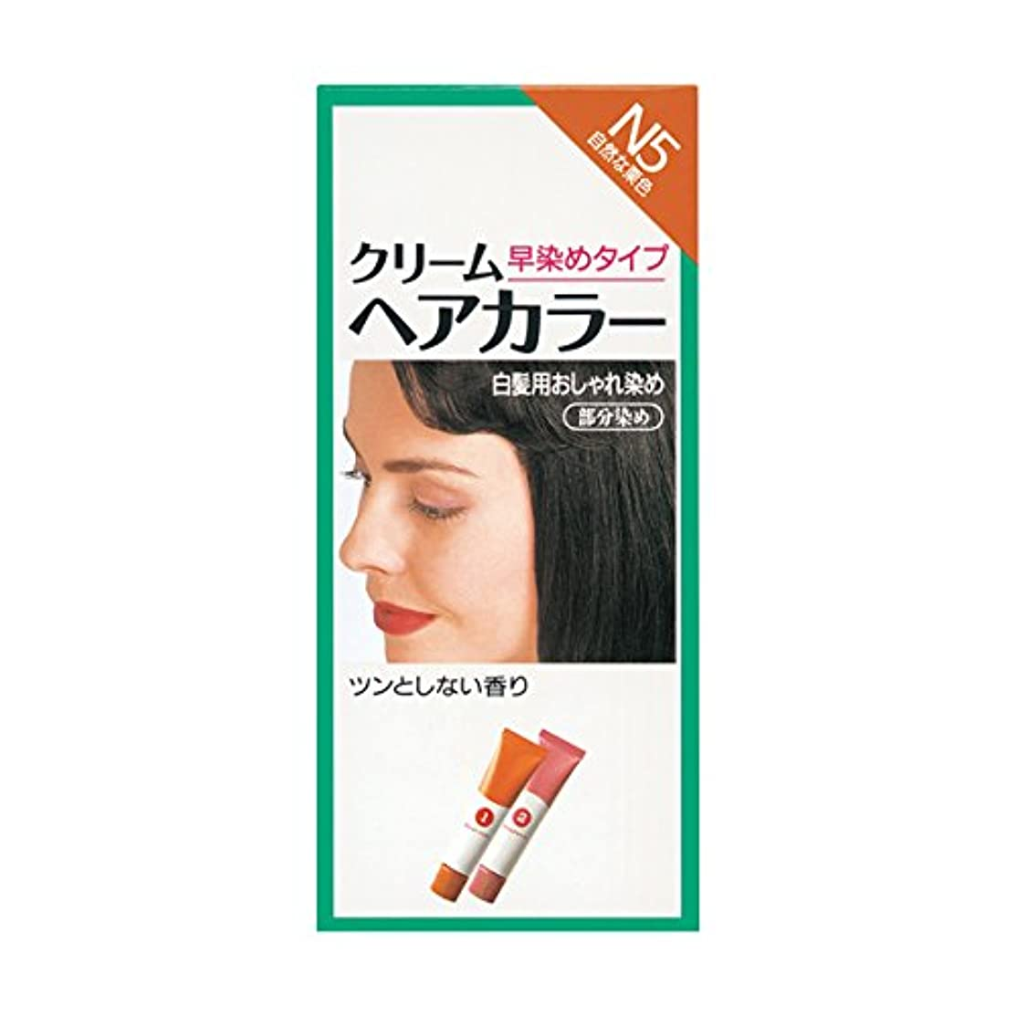 インターネット承認花弁ヘアカラー クリームヘアカラーN N5 【医薬部外品】