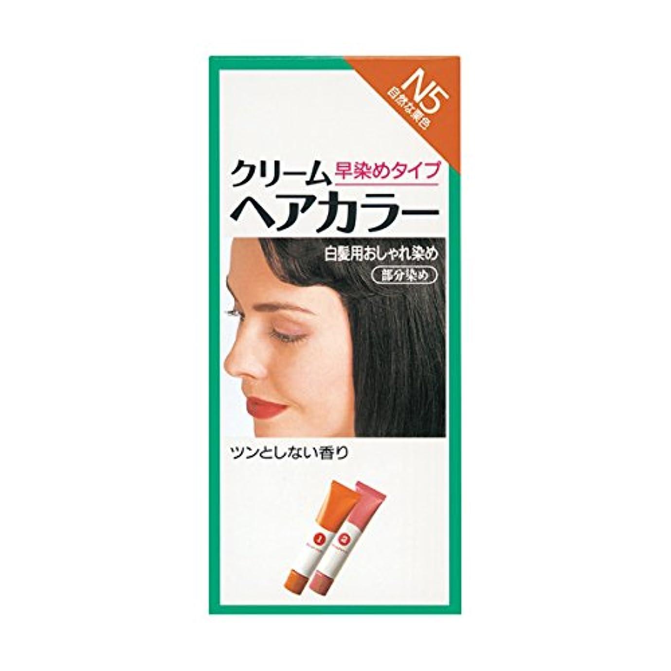 繊細細分化するショップヘアカラー クリームヘアカラーN N5 【医薬部外品】