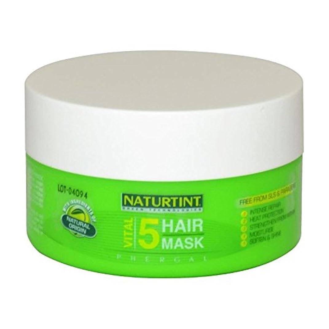 ストローク固める哲学博士[Naturtint] Naturtint重要な5ヘアマスク - Naturtint Vital 5 Hair Mask [並行輸入品]