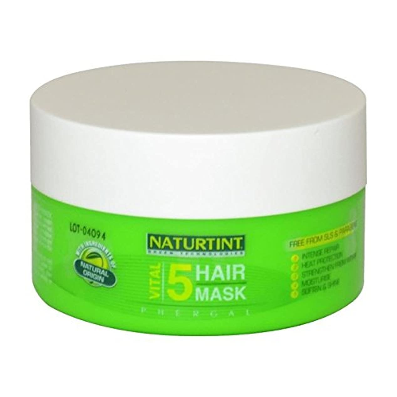 奨励王室確かめる[Naturtint] Naturtint重要な5ヘアマスク - Naturtint Vital 5 Hair Mask [並行輸入品]