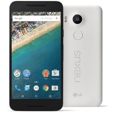 Google Nexus 5X (SIMフリー, 16GB, Quartz White)[並行輸入]