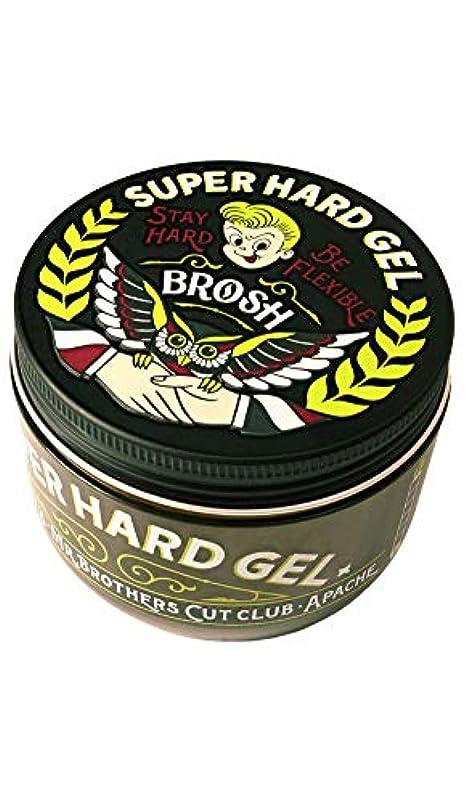 描写連続的クラフトBROSH (ブロッシュ) BROSH SUPER HARD GEL 200g スタイリング ジェル 整髪料