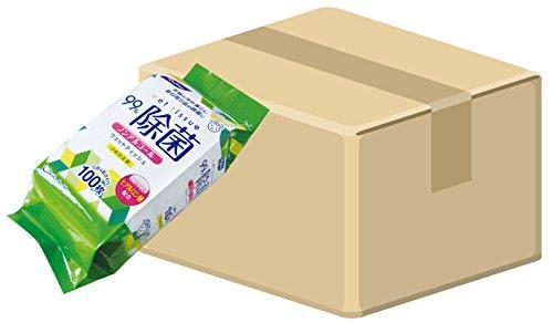 (ケース販売) 日本製 リファイン ノンアルコール除菌 ウェ...