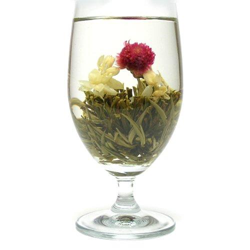 お花が開く幸せ工芸茶 ハッピーハート 8個入り 中国茶葉 花茶 ジャスミン茶 ジャスミンティー ギフト