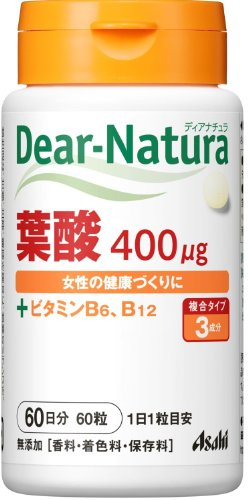 アサヒフードアンドヘルスケアディアナチュラ葉酸60粒