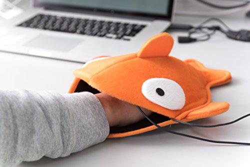 あったかマウスパッド オレンジ