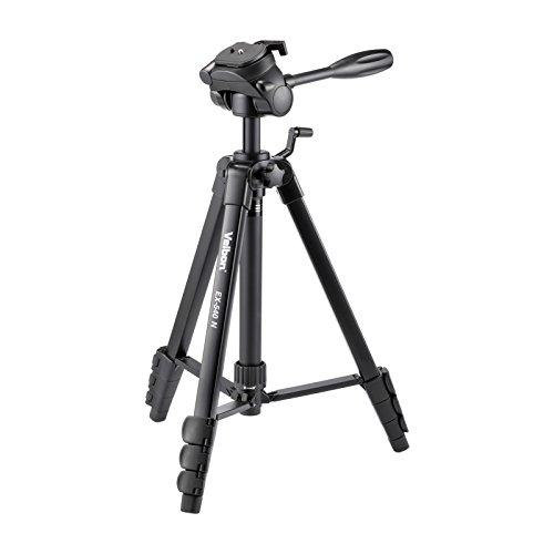 Velbon 三脚 EX-540N 4段 レバーロック 脚径23mm 中型 3Way雲台 DIN規格クイックシュー対応 アルミ脚 302489