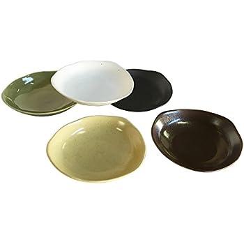 西海陶器 カレー皿 あじわい 日本製 直径22 cm 5枚セット 30311