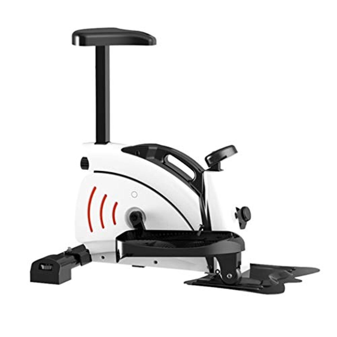 ライブコンクリート糞ミニステッパー運動階段アップダウンステッパーステッパートナー移動の低インパクトフィットネスマシンLCDディスプレイの消費カロリー、運動時間のミュート - ペダルマシン
