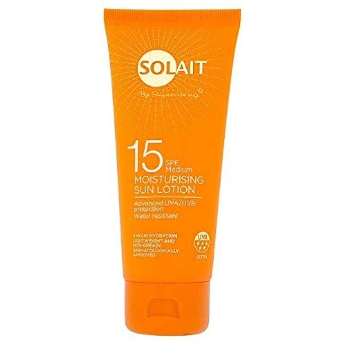 クレデンシャル対称スリップシューズ[Solait] Solait日クリームミニSpf15の100ミリリットル - Solait Sun Cream Mini SPF15 100ml [並行輸入品]